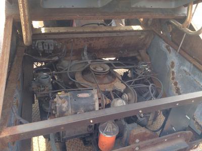 Fan cooled 1970 VW Trike engine