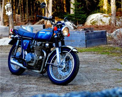 1972 Honda CB450 for Sale by Owner in Penobscot, Maine ME