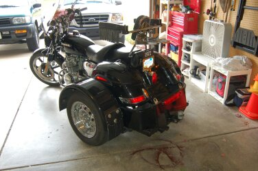 1972 CB 500 Four Honda Trike Motorcycle for Sale by Owner in IN Indiana