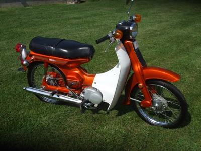 1972 Yamaha U7E Scooter