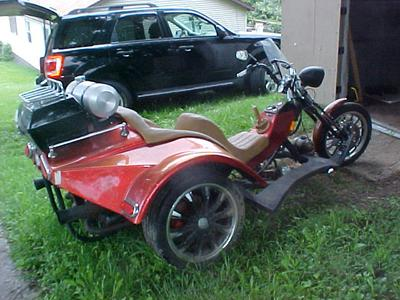 1973 VW trike Motorcycle for sale by owner