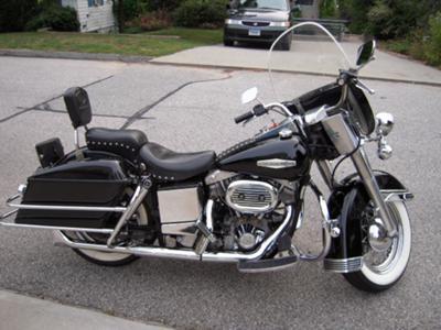 1974 Harley Davidson FLH Electraglide Electra Glide Davison