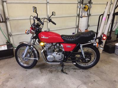 1975 Kawasaki 400 for sale by owner