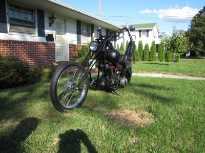 1976 Harley Davidson Old School Chopper (this photo is for example only; please contact seller for pics of the actual motorcycle for sale in this classified