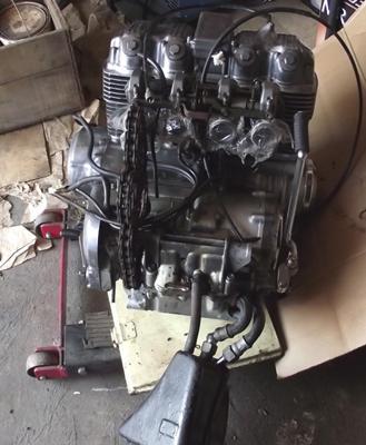 1977 Honda CB750 Engine