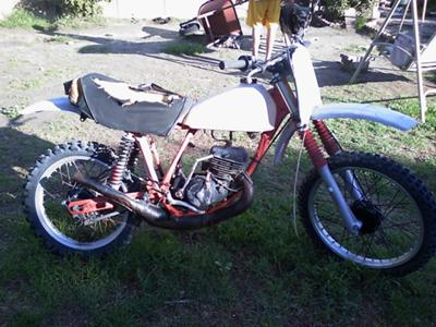1977 Honda Elsinore CR 125cc Dirt bike