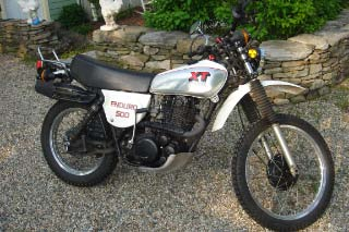 1977 Yamaha  XT500 Dirt Bike