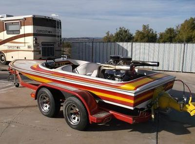 Custom 1978 Eliminator Jet Boat