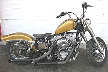 1978 Harley FXS Lowrider Shovelhead w a 2-Cylinder 1206cc engine and a peanut Fuel Tank