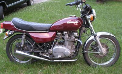 1978 Kawasaki KZ750