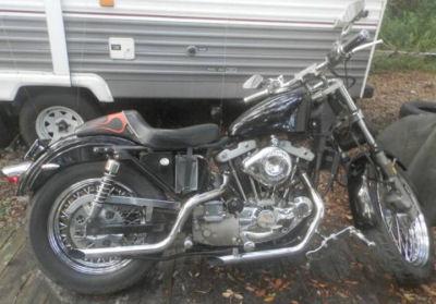 Classic Trophy Winnong 1979 Harley Davidson 1000 Sportster XL