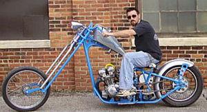 1979 Honda CB750 Custom Built Chopper motorcycle