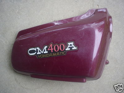 1980 Hondamatic CM400A RIGHT SIDE PANEL