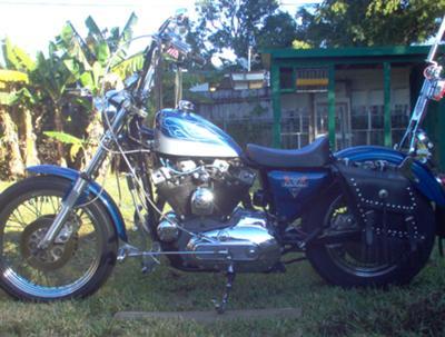 1980 Ironhead Harley Davidson Sportster