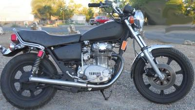 Black 1980 Yamaha 650 Special (NOT the bike for sale in this ad)