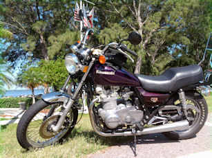 1982 Kawasaki M1 750 CSR Parallel Twin CSR 750 Twin in the wild.
