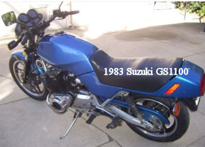 1983 Suzuki GS 1100 ES Motorcycle