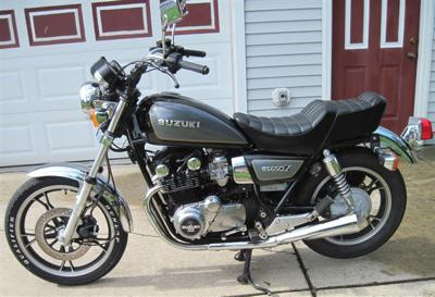 1983 Suzuki GS650L GS 650 L (this photo is for example only; please contact seller for pics of the actual motorcycle for sale in this classified)