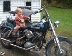 1984 Harley Davidson FXEF Shovelhead Low Rider