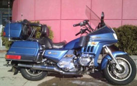 Blue 1985 Honda Gold Wing Interstate GL1200I