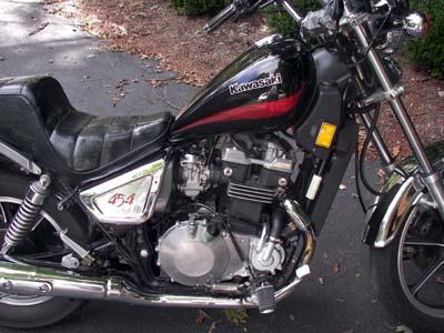 1985 Kawasaki 454 LTD