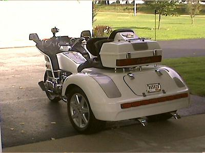1986 Goldwing Aspencade Trike Motorcycle with an 8 inch Ford rear end