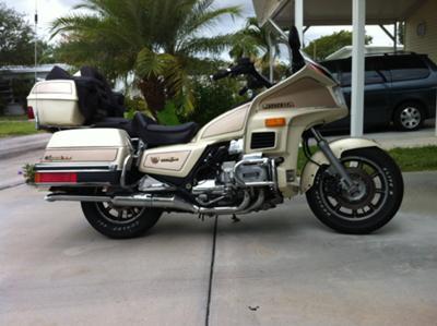 1986 Honda Goldwing Aspencade SEI (example only)