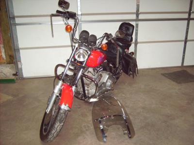 1986 Harley Davidson Lowrider FXR with running boards