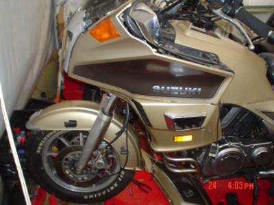 1986-1988 Suzuki CAVALCADE LX (this photo is for example only; please contact seller for pics of the actual motorcycle parts for sale in this classified)