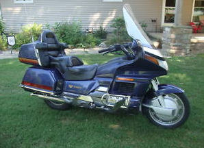 1988 Honda GoldWing Gold Wing 1500 Reverse Gear Fairing Cruise