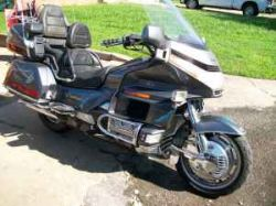 Metallic Gray Paint 1988 Honda Goldwing 1500GL