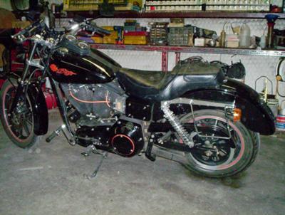 1991 Harley Davidson Sturgis 1991 HD STURGIS CUSTOM MOTORCYCLE