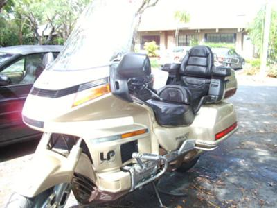 1991 HONDA GOLDWING INTERSTATE 1500 CC ANIVERSARY EDITION