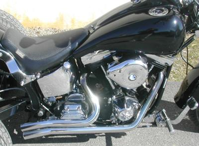 1992 Harley Davidson Softail Trike (this photo is for example only; please contact seller for pics of the actual motorcycle for sale in this classified)