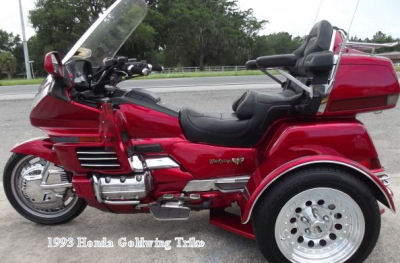 1993 Honda Goldwing Trike Conversion Three Wheel Motorcycle