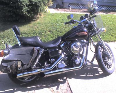 1996 Harley Davidson Dyna Convertible w mag wheels Fatboy Handlebars and More!