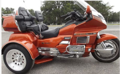 1996 HONDA GOLDWING ASPENCADE GL1500 TRIKE  WITH NEW TRIKE CONVERSION KIT