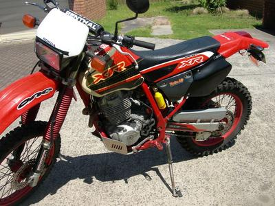 1996 Honda XR400 Dirt Bike