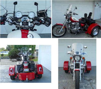1996 Yamaha Virago Trike