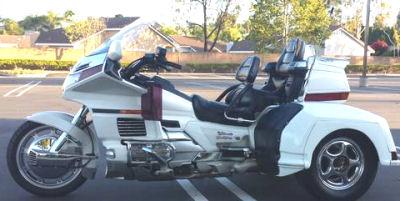 1997 Honda Goldwing trike white