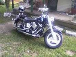 1997 Harley Davidson Fatboy w Black Paint Color (this photo is for example only; please contact seller for pics of the actual Harley-Davidson Motorcycle for sale in this classified)