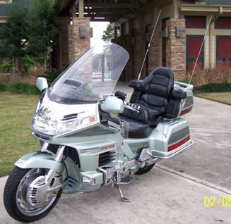 1999 Honda Goldwing GL1500 50th Anniversary Edition (this motorcycle is for example only; please contact seller for pics of the actual Goldwing SE  for sale)