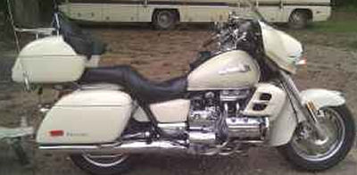Honda Valkyrie Interstate and Motorcycle Trailer (this photo is for example only; please contact seller for pics of the actual motorcycle  for sale in this classified)