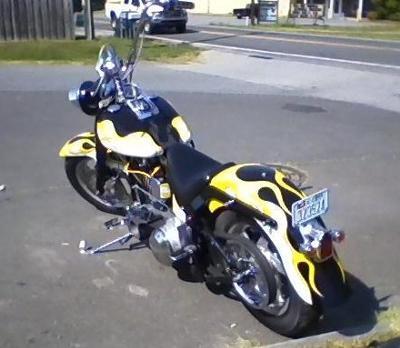 Paint by Colormania 2000 Custom Harley Davidson Fat Boy Fatboy