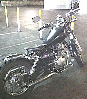 2000 Honda 250 Rebel Bobber Motorcycle