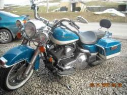 2001 Harley Davidson Road King (this photo is for example only; please contact seller for pics of the actual motorcycle for sale in this classified)