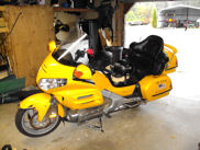 Bright Yellow 2001 Honda Goldwing GL1800 for Sale