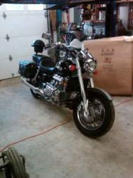 2001 Honda Valkyrie Green and Silver Paint Color Scheme