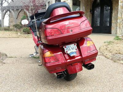Illusion Red 2002 Honda Goldwing GL1800