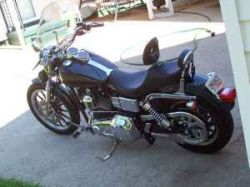 2002 Harley-Davidson Low Rider with Vance & Hines Staggered Exhaust Pipes
